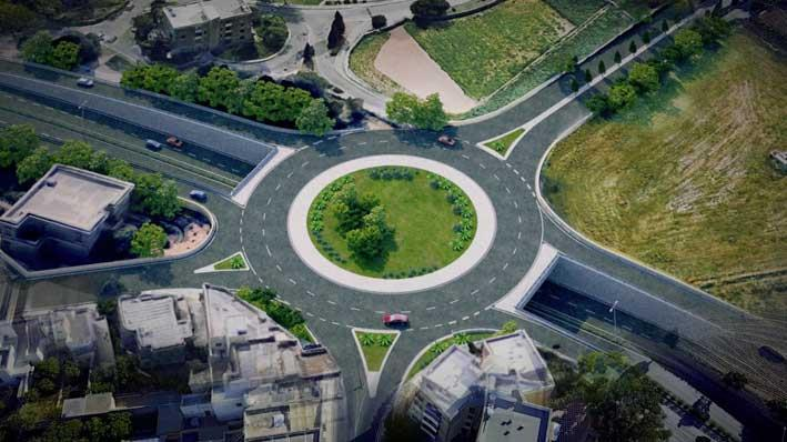 Call for tenders for two tunnels beneath Santa Lucija roundabout